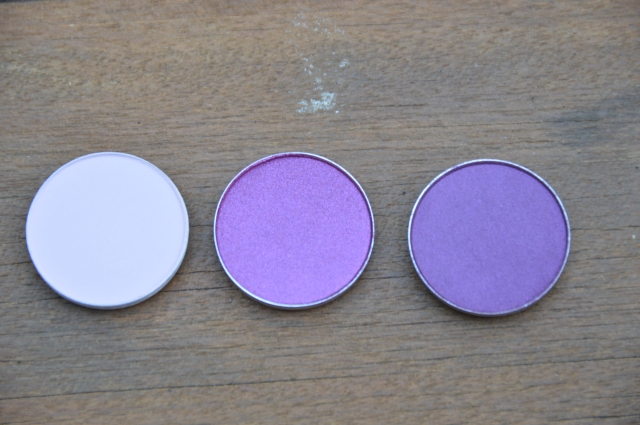 (L-R) MAC Yogurt, MAC Plum Dressing, MAC Nocturnelle)